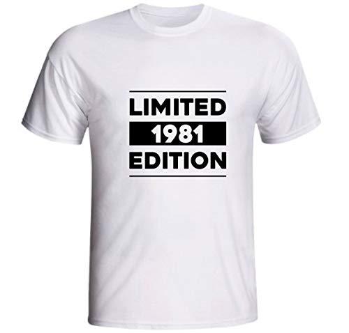 Camiseta Limited 1981 Edition 40 Anos Aniversário Quarenta