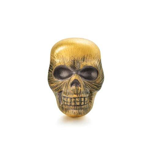 Dxlts 24 Karat /99.9‰ Gold Skelett Charms Beads DIY Schmuck Charm Anhänger Kompatibel Europa Armband & Halskette Birthday Christmas Valentine's Day Thanksgiving Geschenk, 2g,7.48in/19cm