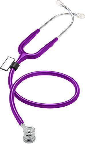 MDF® NEO™ - leichtes, luxuriöses Zweikopf-Stethoskop für Säuglinge und Neugeborene - Lila (MDF787XP-08)