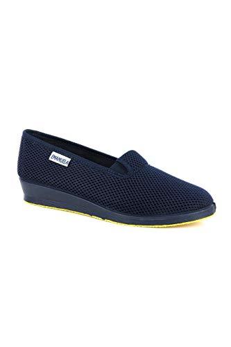 EMANUELA 768C Pantofola Donna ZEPPEETTA Estiva ALVEOLARE Blu 39