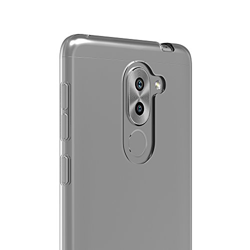 AICEK Honor 6X Hülle Case, Ultra-Clear Huawei Honor 6X Case Silikon Soft TPU Crystal Clear Premium Durchsichtig Handyhülle Schutzhülle Case Backcover Bumper Slimcase für Honor 6X (5,5 Zoll) - 5