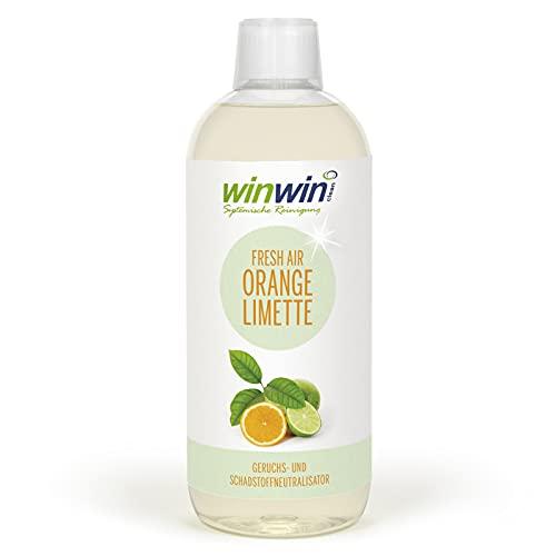 winwinCLEAN - fresh AIR LUFTREINIGUNGS-KONZENTRAT \'Orange-Limette\' 1000ml - I Mehr als ein herkömmlicher \'Raumluftverbesserer\'