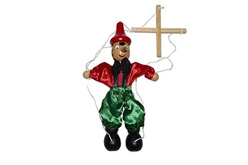 Juguetutto - Marioneta Pinocho - Juguete de Madera