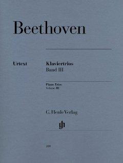 Preisvergleich Produktbild KLAVIERTRIOS BD 3 - arrangiert für Violine - Violoncello - Klavier [Noten / Sheetmusic] Komponist: BEETHOVEN LUDWIG VAN