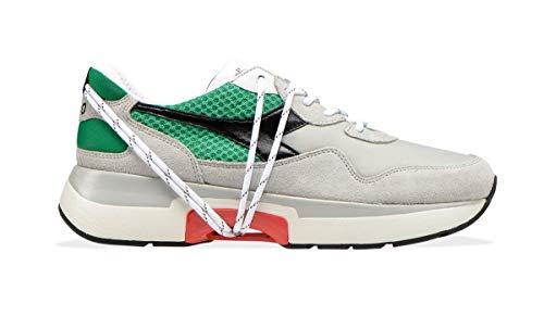 Diadora Sneaker Heritage Uomo n9000 TXS mesh 174817 c6849 Bianca ss19 42