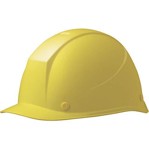 ミドリ安全 ヘルメット 女性用 小サイズ 作業用 FRP製 LSC11F KP付(αライナー) レモンイエロー