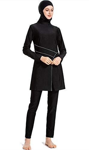 TianMaiGeLun Moslim Badpakken voor Vrouwen Plus Size Bescheiden islamitische zwemkleding Burkini Hijab