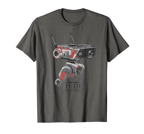 Star Wars Jedi Fallen Order BD-1 Distressed T-Shirt