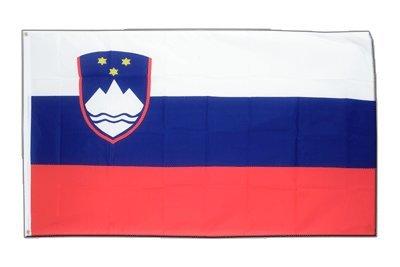 Slowenien Flagge, slowenische Fahne 90 x 150 cm, MaxFlags®