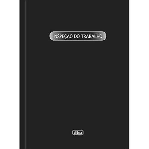 Livro Inspeção do Trabalho Capa Dura - 50 Folhas,Tilibra - 1 un