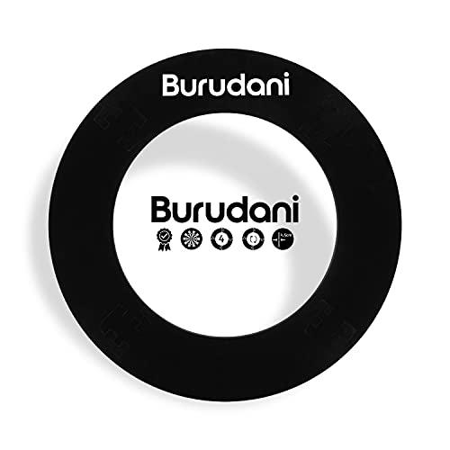 Burudani Dart Auffangring | NEU: Modell 2021 mit Abstandhalter | Hochwertiger Dart Surround Wandschutz | Ideale Passform für alle Standard Dartscheiben