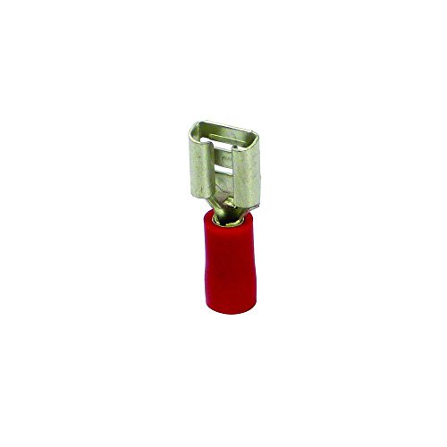 Carpoint 1623809 Cosses de Câbles 541 Rouge 10Pièces