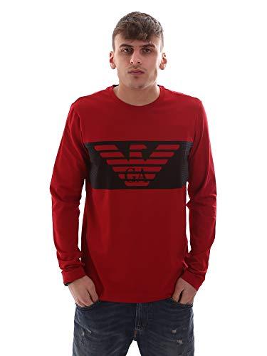 Emporio Armani Ea7 6GPT59 PJQ9Z T-Shirt Man Rot XXL