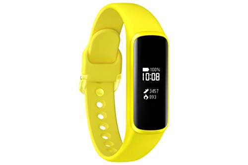 Samsung Galaxy Fit e, Fitnesstracker, gelb, mit Bluetooth, Pulsmesser und Schlafanalyse