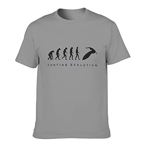 Ginald Camiseta Hombre Surfing Evolution Algodón - Top Vacation