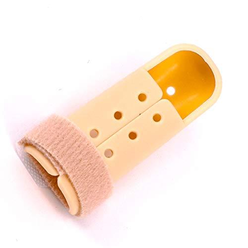 Fingerschiene perforiertes Design Stack Fingerschiene, Splint, Finger Splint, Daumenschiene, Stack Schiene 60-65mm
