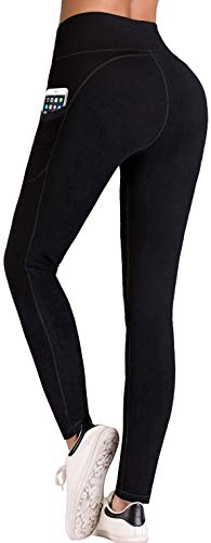 IUGA High Waist Yoga Pants with Pockets,Tummy...