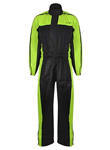MBSmoto MJ-23 LANDER TEXTILE WATERPROOF JACKET Yellow Large