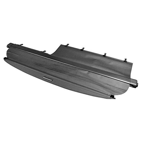 Cargo Cover Compatible With 2002-2006 Honda CRV, Factory Style Unpainted Black Luggage Cover Trunk Liner Privacy Shade by IKON MOTORSPORTS, 2003 2004 2005