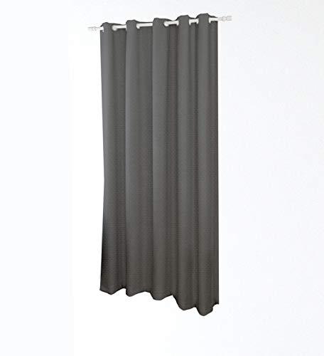 PARAMAISON Tenda Oscurante Termica Isolante con Occhielli Jessica, 1 Pannello 140x290 cm