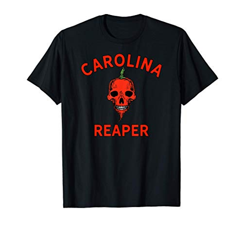 Hot Pepper Carolina Reaper Chilihead Gift Spicy Food Lover T-Shirt