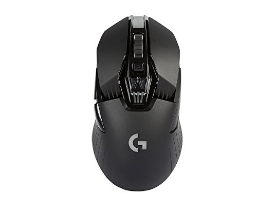 Logitech G900 Mouse da Gioco Wireless, Chaos Spectrum, Nero
