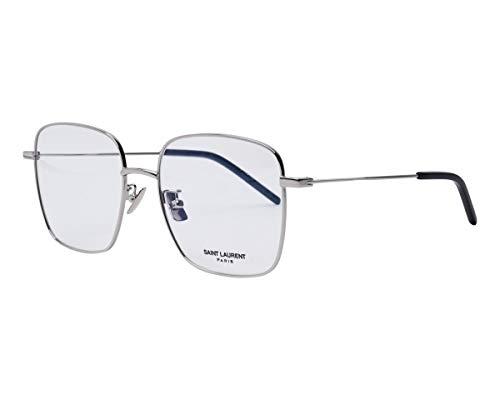 Yves Saint Laurent SL-314 001 - Gafas de sol (metal), color plateado