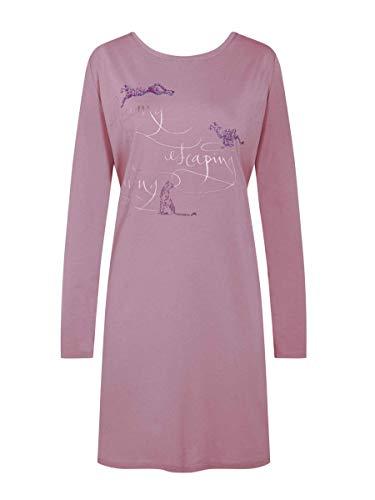 Triumph Damen Nightdresses NDK 02 LSL Nachthemd, Violett, (Herstellergröße: 38)