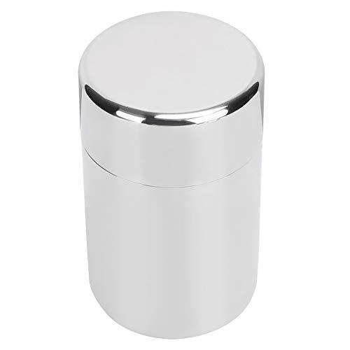 Lata de té para té suelto, recipiente de almacenamiento de café de acero inoxidable, botes de cocina, 400 ml 13 oz/550 ml 18 oz(S)