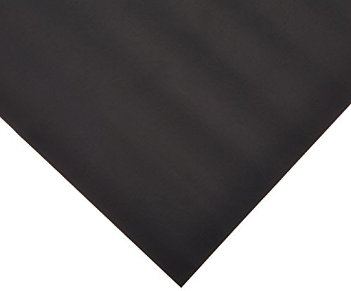VViViD Black Weatherproof Faux Leather Finish Marine Vinyl Fabric (1.5 Foot x 54 Inch)