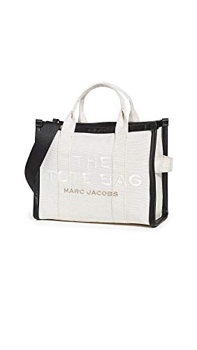 The Marc Jacobs Women's Small Traveler Tote, Natural, White, Off White, One Size