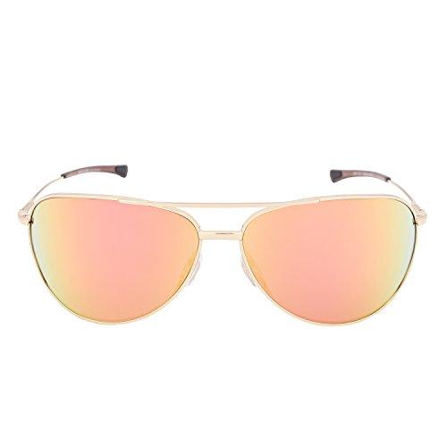 Smith Unisex-Erwachsene Rockford FN J5G 65 Sonnenbrille, Gold (Gold/Rose Gold Mirro)
