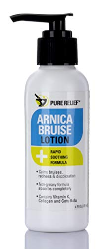 Pure Relief Arnica Bruise Lotion. Rapid Relief for...