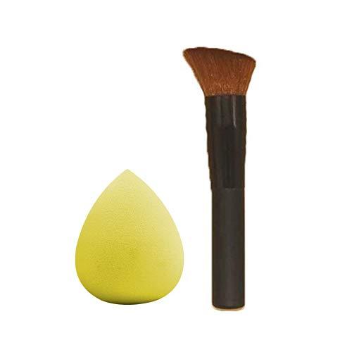 Brocha de Maquillaje 2020 Nuevo Maquillaje Herramientas de Maquillaje Cepillos Polvo Blush Corrector Fundación Cara Sistema de Cepillo Profesional de la manija de Madera (Handle Color : SC0126