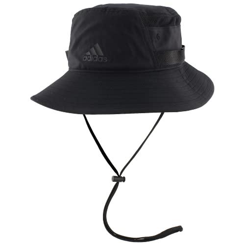 adidas Men's Victory III Bucket Hat, Black, S/M