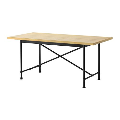 Ikea Mesa, Color Negro Pino Karpalund Negro 8202.14211.2238