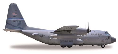 Herpa 530651 voertuig U.S Force Lockheed C-130H Hercules, Reno Air Base-79-0475