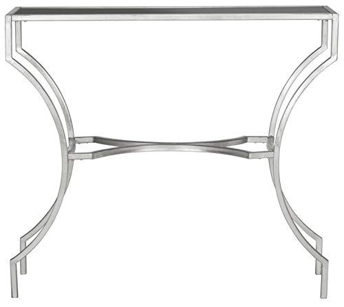 Safavieh EAF2540 Konsole, Metall, Silber, 101 x 30 x 90.17 cm