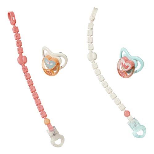 Baby Annabell 703021 Schnuller mit Clip , 2 assorted