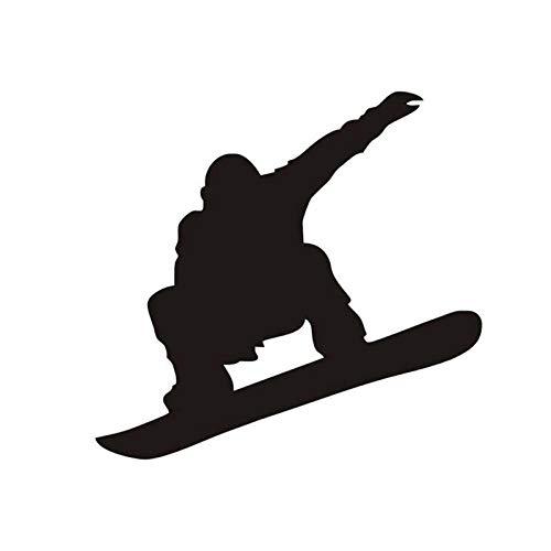 Schwarzes Skateboard-Wandtattoo Für Jungenschlafzimmer, Entfernbare Bing-Basisaufkleber Für Wohnzimmerkindergartendekoration