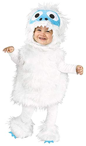 Fun World Snow Beastie Infant/Toddler Costume-18-24 Months