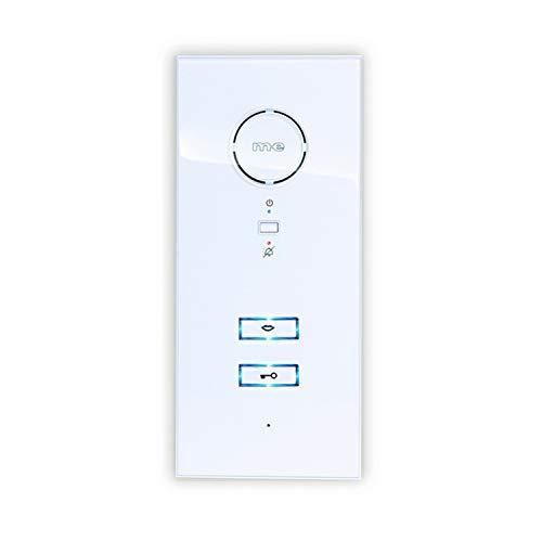 m-e modern-electronics ADV-100 WW Türsprechanlage Kabelgebunden Inneneinheit Weiß