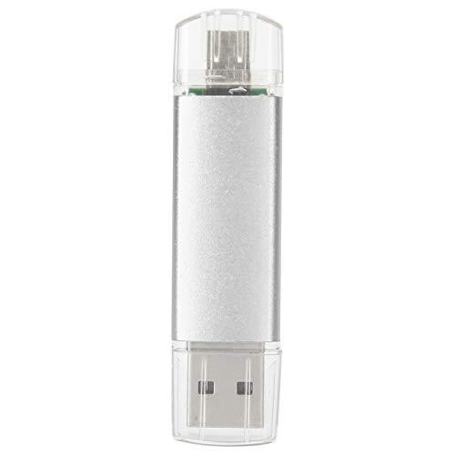 frenma Flash Drive Disco USB 2.0 Silver U Pratico Portatile per archiviare Video e archiviare Foto(128GB)