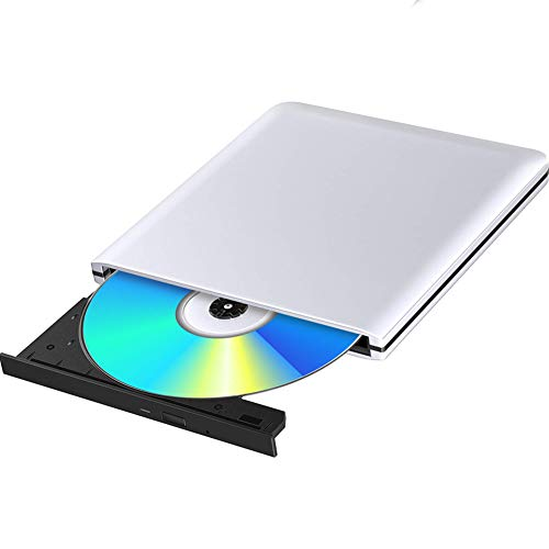 Lecteur Graveur DVD Externe Blu Ray 3D USB 3.0 Portable Ultra Slim Graveur de DVD CD-RW pour Mac OS, Linux, Windows XP/Vista / 7/8/10,PC