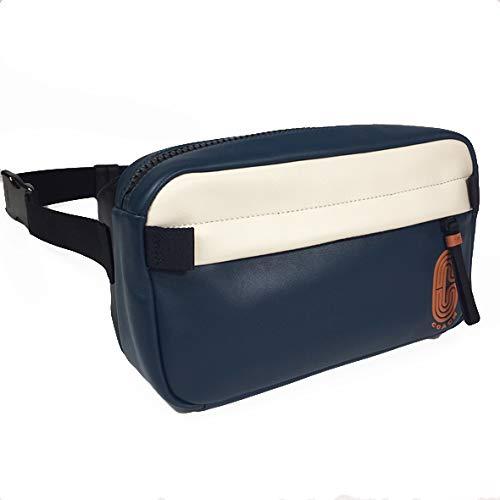 [コーチ] COACH バッグ ボディバッグ ウエストポーチ 89920 EDGE BELT BAG IN COLORBLOCK エッジ ベルト バッグ カラーブロック メンズ ブルー チョーク オレンジ QBQ6P 新品 [アウトレット品][並行輸入品]