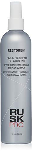 RUSK PRO Restore01 Leave in Conditioner for Normal Hair, 12 oz
