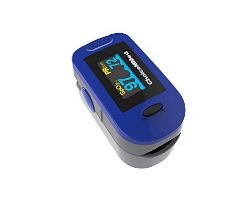 fingerpulsoximeter md300C2con 6compartimento de, pantalla OLED, incluye bolsa, silicona funda, correa, pilas,