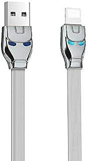 Hoco U14 Steel Man Lightning Charging Cable, 1.2M
