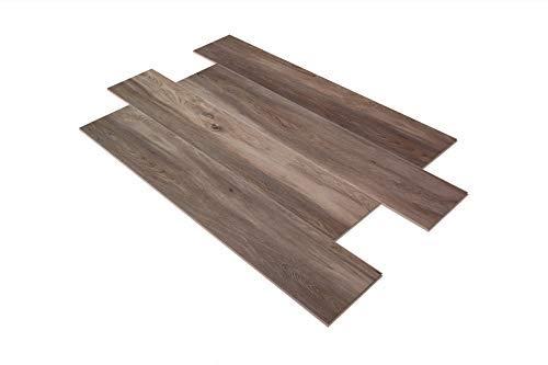 Preisvergleich Produktbild 25, 02 m² / SPC Vinylboden / I4F Klick / Luxus / Öko / 23x122cm / PS10VG