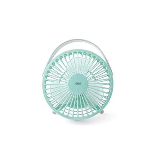 JKUNYU Mini Ventilador, Uso Flexible y variada Compatible with Satisfacer Sus diversas Necesidades, Colores como el Caramelo, Negro, Verde, Rosa, Blanco (Color: Rosa)